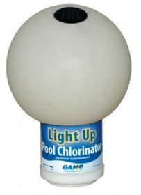 GAME Solar Color-Changing Globe Pool Chlorinator # 9002