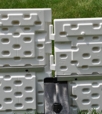 "NiceRink Plastic Sideboards 18"" x 4'"