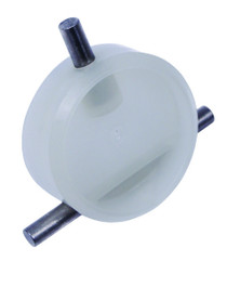 """A & A Manufacturing T-Valve and Clip Assembly 2"""" (Press In) - #540971"""