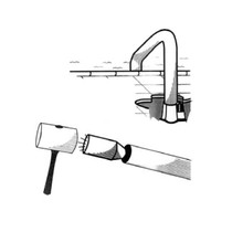 Pool Tool 1.900in Aluminum Handrail Stabilizing Plug for Anchor Handrails # 144-A