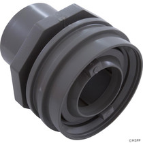 "Waterway Flush Mount Return Fitting 1"" Socket - Gray # 400-9197"