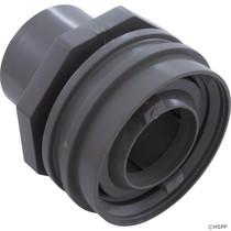 "Waterway Flush Mount Return Fitting 1"" Socket - Gray # 400-9197"