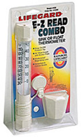 Pentair EZ Read Thermometer Sink or Float Combo # R141200