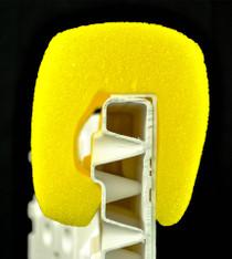 NiceRink Yellow 4ft Bumper Caps