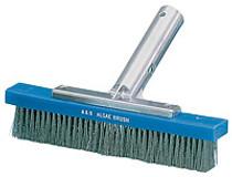 A&B 9in Metal Back Algae SS Brush # 5010