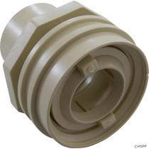 "Waterway Flush Mount Return Fitting 1"" Socket - Bone # 400-9192"