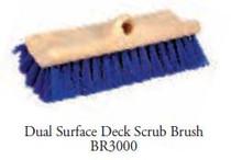 Brush Dual Surface Deck Scrub #BR3000