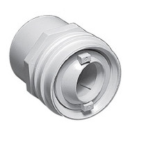 Waterway Flush Mount Return Fitting 1.5 Socket - White # 400-9390