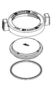 Jandy ePump Locking Ring with Lid and O-ring # R0445800
