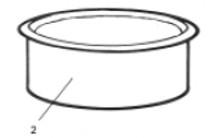 PoolMiser White Deck Ring # RP-203