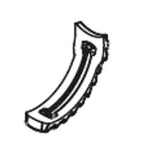 Zodiac T3 Bumper # R0541800