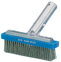 A&B 6in Metal Back Algae SS Brush # 5000