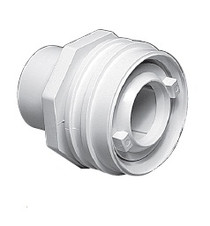 "Waterway Flush Mount Return Fitting 1"" Socket - White # 400-9190"