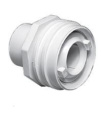 "Waterway Flush Mount Return Fitting 1"" Socket - White # 400-9190"