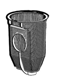 Hayward Max-Flo II Strainer Basket # SPX2700M