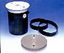 PoolMiser Black Lid and Ring with Screws # RP-202B