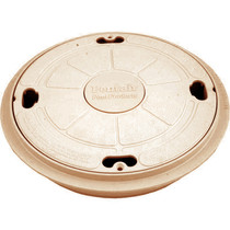 Pentair Skimmer Lid/ring seat complete - Tan # 85018000 1