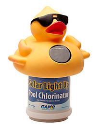 GAME Solar Light Up Duck Float Dispenser # 8002