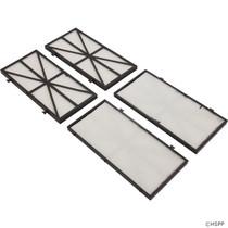 Pentair Kreepy Krauly Prowler 820/830 Cartridge Fine Filter Kit (4PK) # 360124