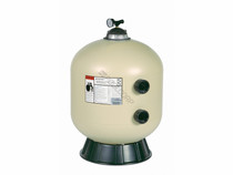 Triton II (Almond) Side Mount Fiberglass Sand Filter without Valve