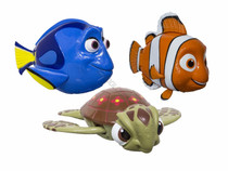 """Swimming """"Nemo"""", """"Dory"""" & """"Squirt"""" Pool Toys"""
