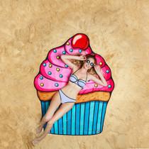 1 Giant Cupcake Beach Blanket