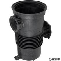 Challenger High Flow Strainer Pot  (Black)