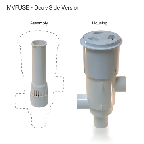 Paramount MVFuse Complete Unit for In-Deck for Paver Decks