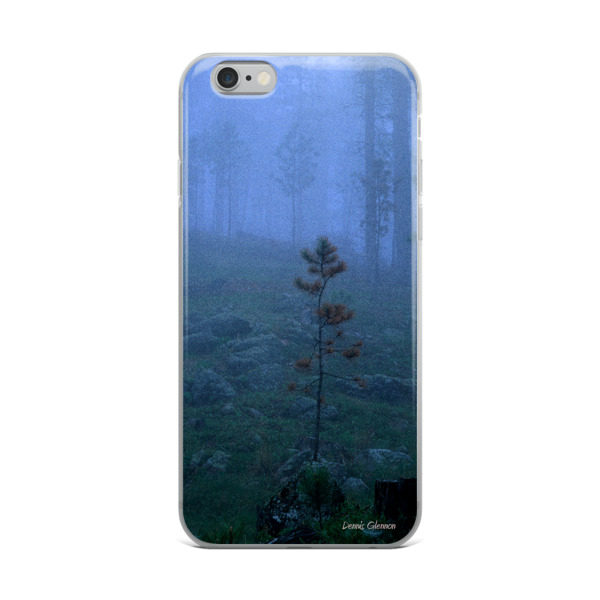 """""""Fogged In"""" Tranquil and Peaceful iPhone Case, Custer State Park, South Dakota"""