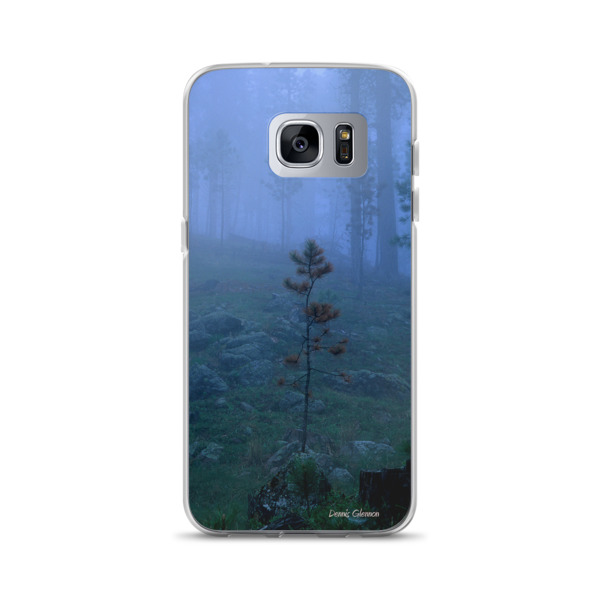 """""""Fogged In"""" Tranquil and Peaceful Samsung Phone Case Custer State Park, South Dakota"""