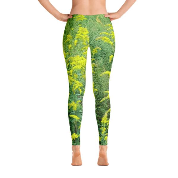 """""""Blooming Ferns"""" Women's All-Over Leggings - Harriman State Park, New York"""