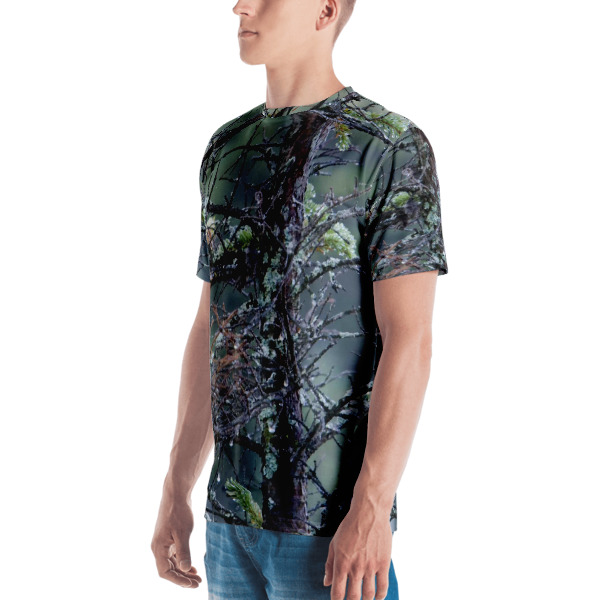 """""""Morning Dew"""" Camouflage Men's  All Over T-Shirt - Baxter State Park, Maine"""