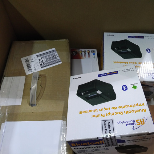 9 units of Informatics & Honeywell Scanners, Royal Sovereign Bluetooth Printer & More  - MSRP 1596$ - Open Box