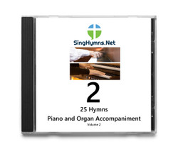CD Volume 2 2018 Edition 25 Hymns Organ and Piano Accompaniment Together