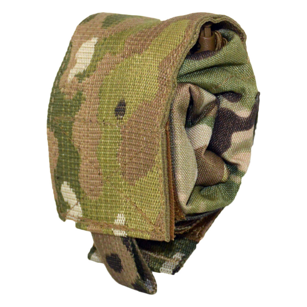 ATS Tactical Gear Roll-Up Dump Pouch in Multicam