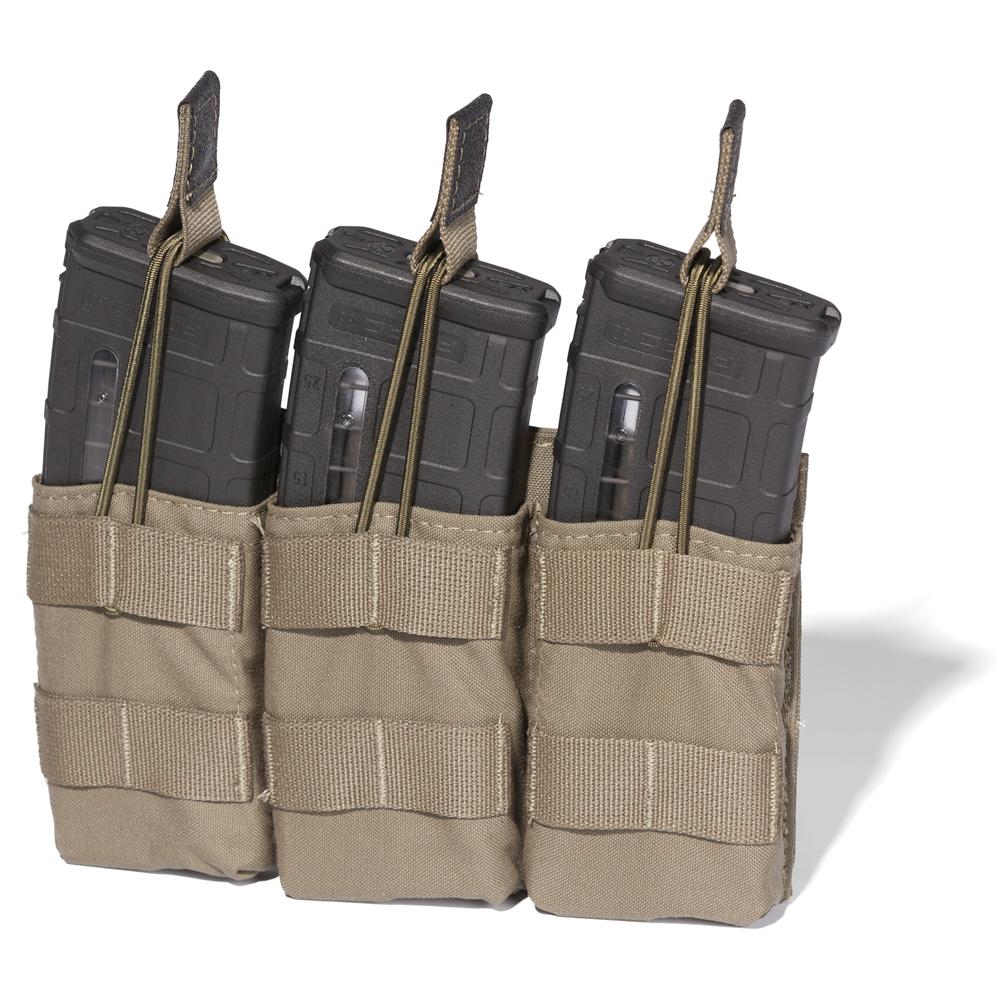 ATS Tactical Gear Slimline M4 Triple Shingle in Ranger Green