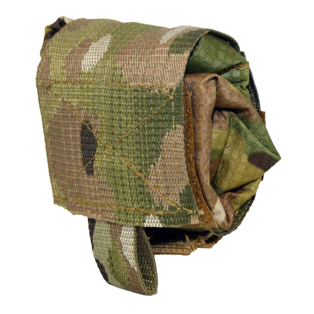 ATS Tactical Gear Slimline Roll-Up Dump Pouch In Multicam