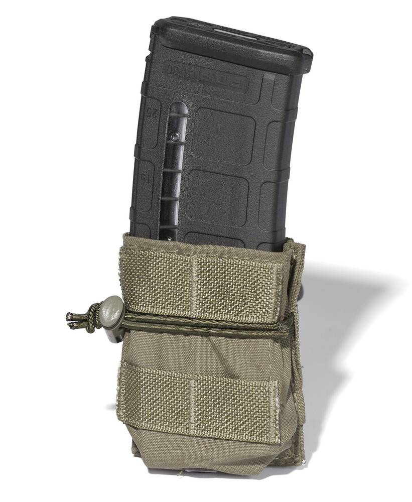 ATS Tactical Gear Short-Single M4 Magazine Pouch in Ranger Green