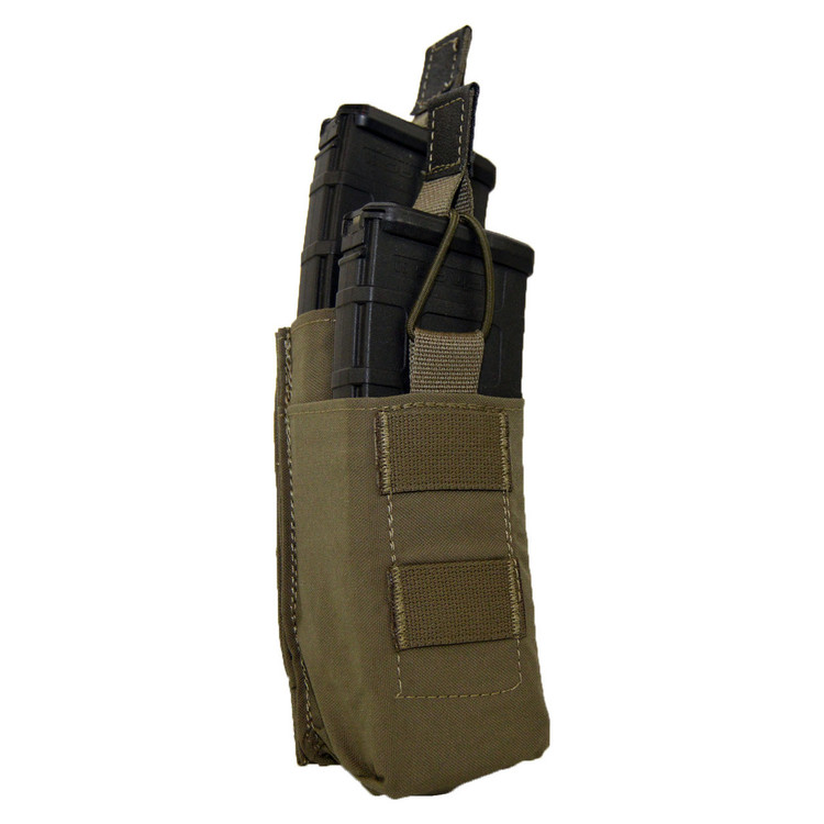 ATS Tactical Gear Double M4 Tiered Shingle in Ranger Green
