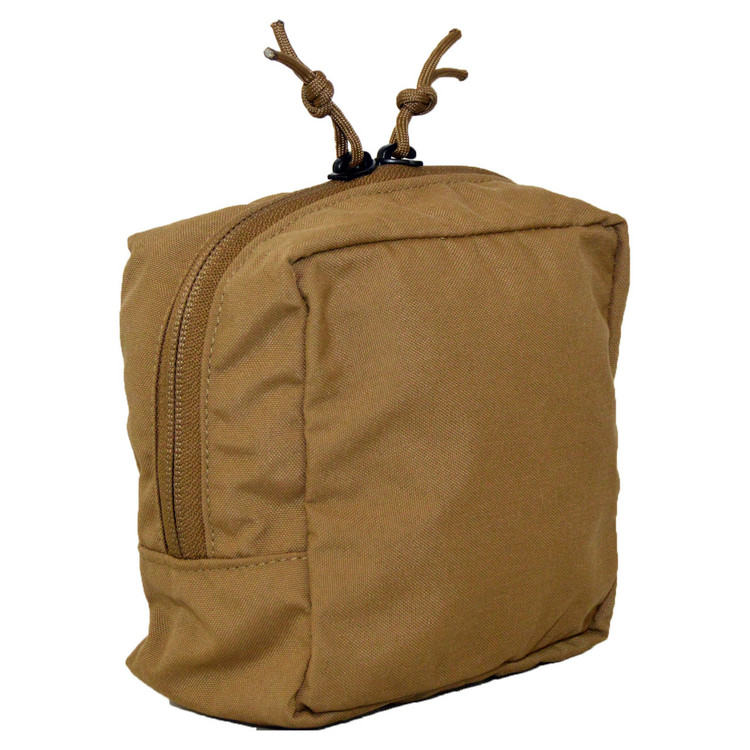 ATS Tactical Gear Slimline 6X6 Utility Pouch in Coyote Brown