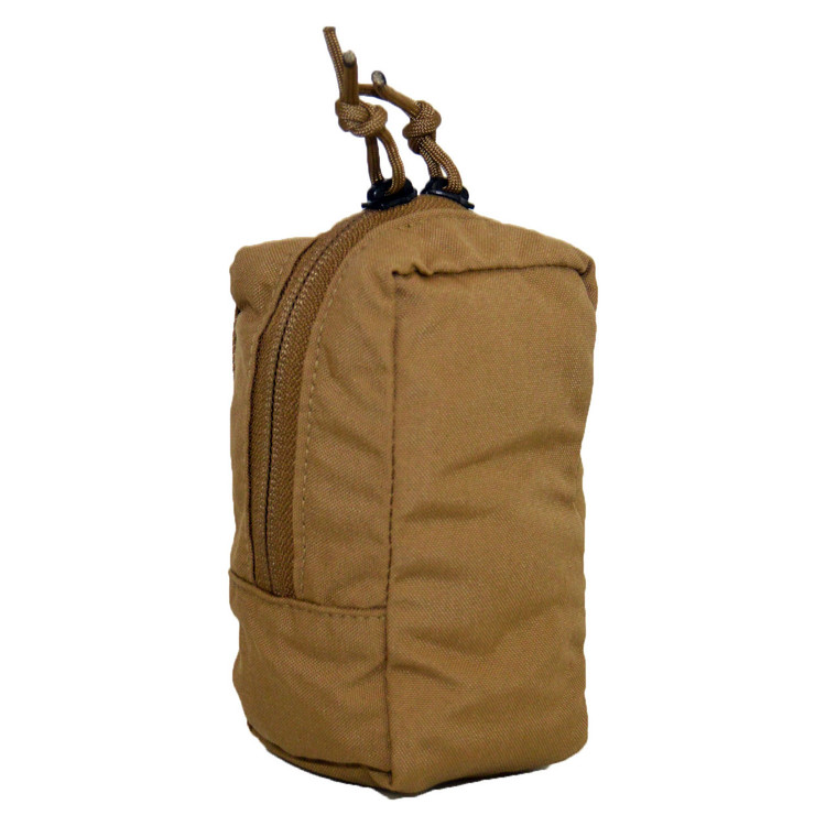 ATS Tactical Gear Slimline Mini Upright GP Pouch in Coyote Brown
