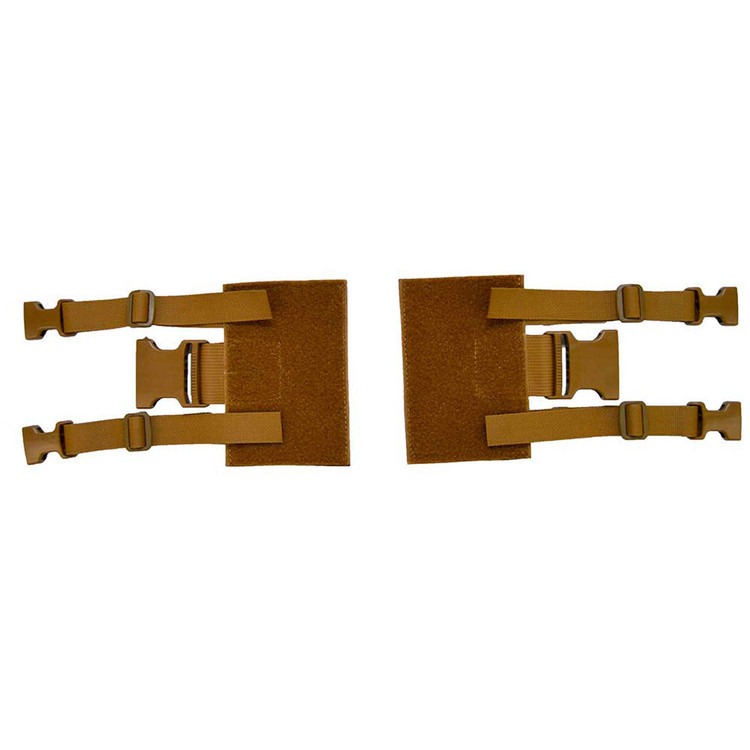 ATS Tactical Gear Chest Harness Adapter Kit in Coyote Brown