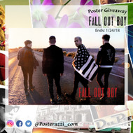 Fall Out Boy Poster Giveaway