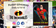 The Incredibles 2 Poster Giveaway