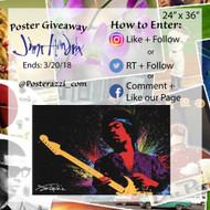 Jimi Hendrix Poster Giveaway