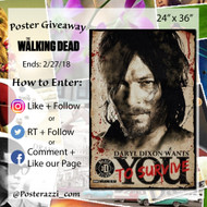 Daryl Wants You...to Enter our TWD Giveaway