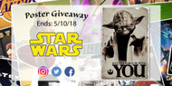 May the Fourth Be With You Poster Giveaway