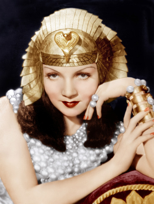 Cleopatra Ornate Traditional Cherry Formal Dining Room: Cleopatra Claudette Colbert 1934 Photo Print