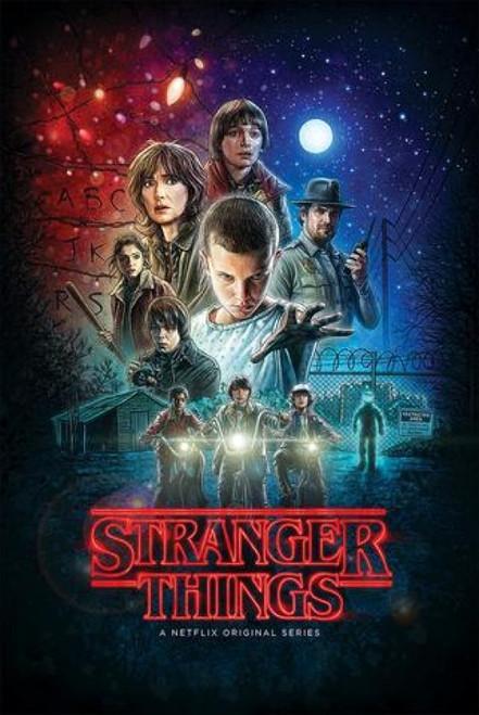 Stranger Things Cast Poster Poster Print Item