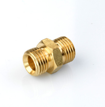 Airblast 1/4 x 1/4 Brass Nipple
